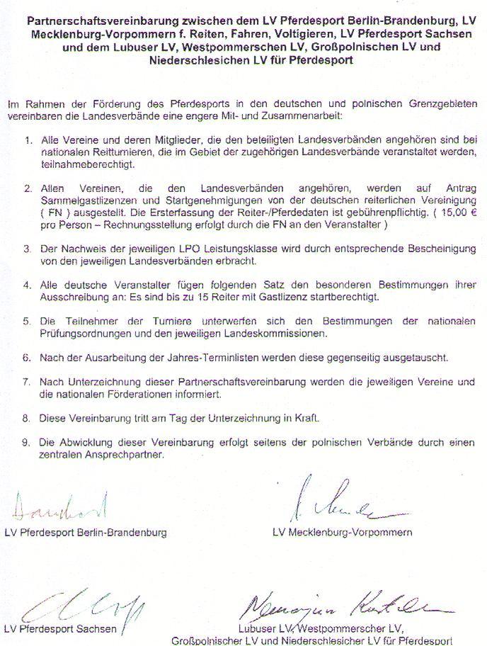 Zusammenarbeit mit Polen